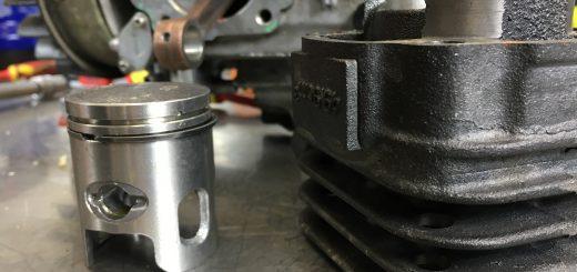 Wymiana tłoka i cylindra Minarelli Horizontal AC/LC