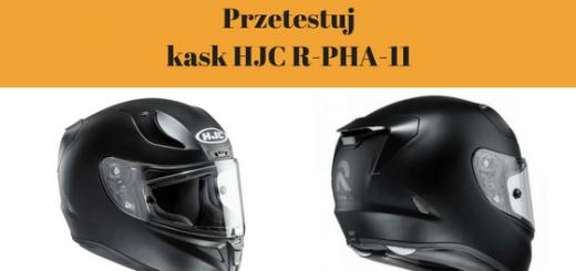 Przetestuj za darmo! Kask motocyklowy integralny HJC R-PHA-1