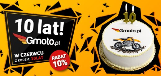 10 urodziny sklepu motocyklowego Gmoto.pl