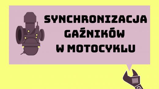 Synchronizacja gaźników w motocyklu