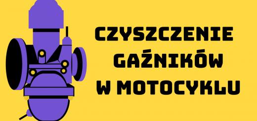 Czyszczenie gaźników w motocyklu