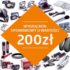 Wygraj bon 200 zł na zakupy w Gmoto.pl!