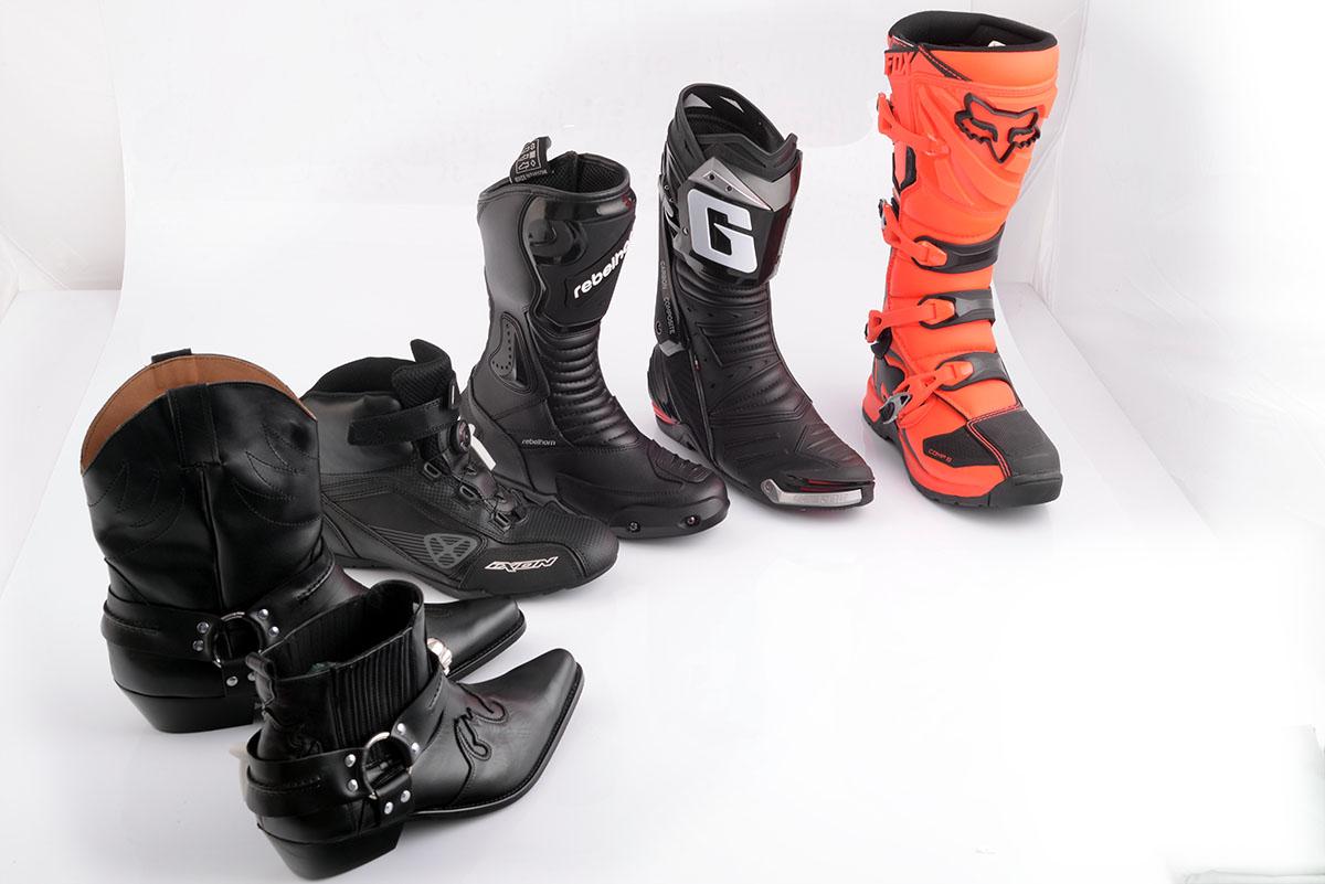 buty na motocykl - wszystkie rodzaje