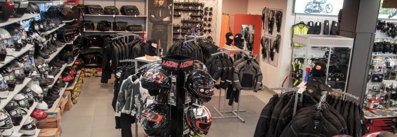 sklep motocyklowy gmoto od środka