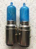 Żarówka 12V 35/35W H6 BA20D niebieska ksenon