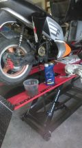 Olej silnikowy do motocykli 10W40 4T Mannol Plus 4l Półsyntetyczny