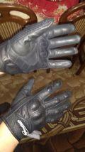 Rękawice skórzane perforowane Inmotion M